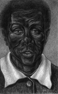 Gospel Singer Drawing by Ray Istre, copyright, 2012 ray@rayistre.com www.rayistre.com